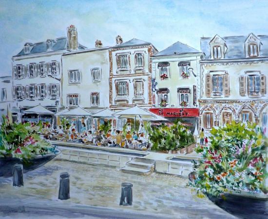 Chartres Aquarelle